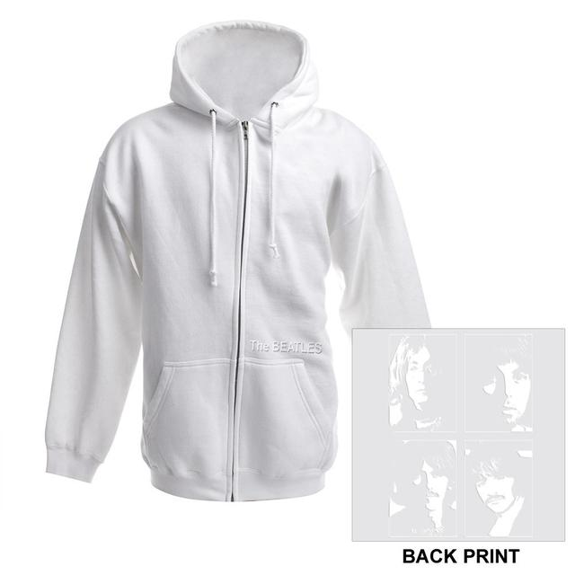 The Beatles White Album Zip-Up Hoodie