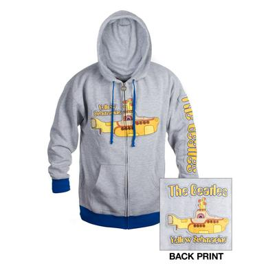 The Beatles Yellow Submarine Zip-Up Hoodie