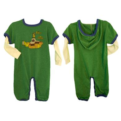The Beatles Yellow Submarine Hooded Romper