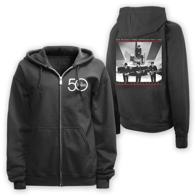 The Beatles First Visit Live Zip Hoodie