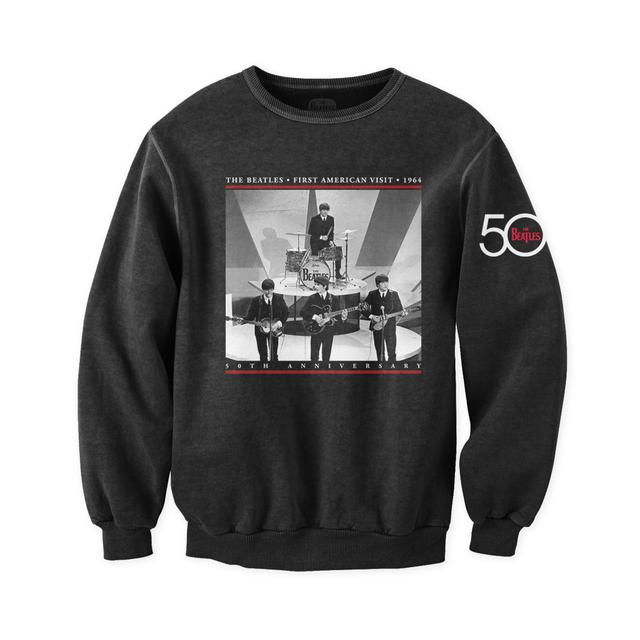 The Beatles First Visit Live Crewneck