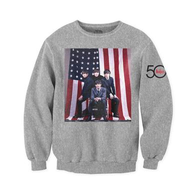 The Beatles American Flag Crewneck