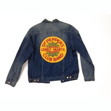 The Beatles Sgt Pepper Denim Jacket