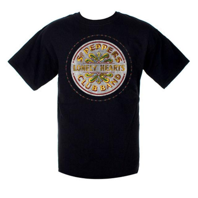 The Beatles Sgt. Pepper's Golden Seal Shirt
