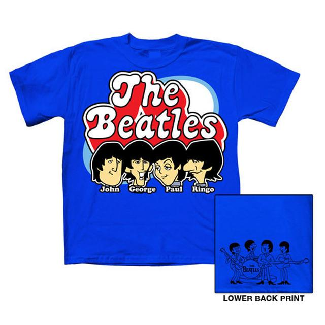The Beatles Cartoon Toddler Shirt