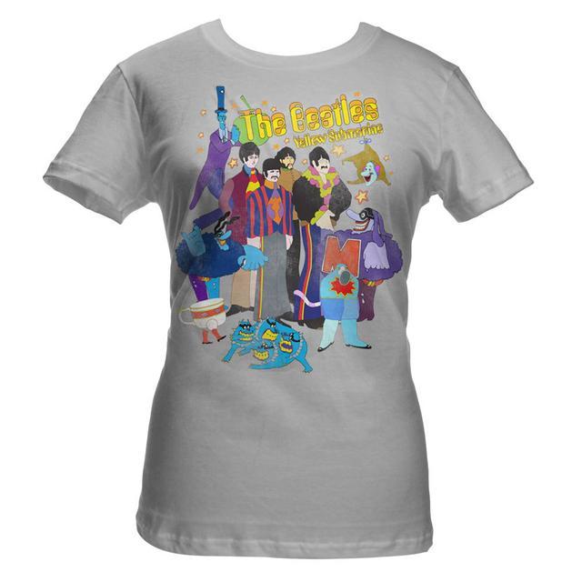 The Beatles Yellow Submarine Womens Shirt