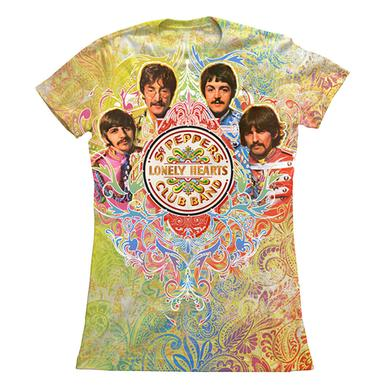 The Beatles Sgt. Pepper's Lonely Hearts Club Band Sublimation Women's Shirt