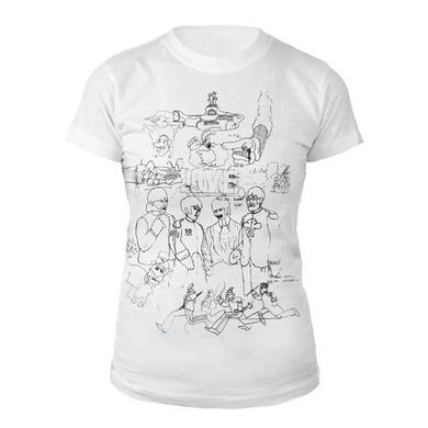 The Beatles Yellow Submarine Women's Shirt