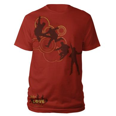 The Beatles Red Love Cirque Du Soleil Shirt