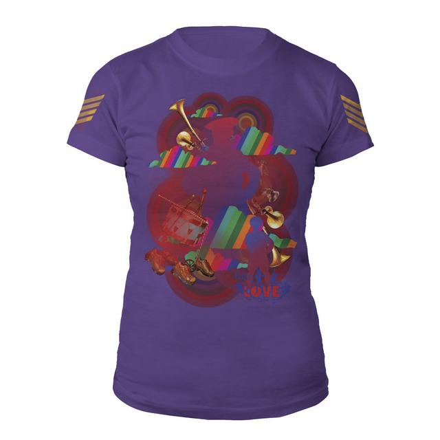 The Beatles Love Collage Women's Shirt