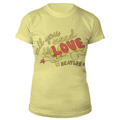The Beatles All You Need Is Love Women's Shirt