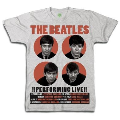 The Beatles 1962 '!Performing Live!' Shirt