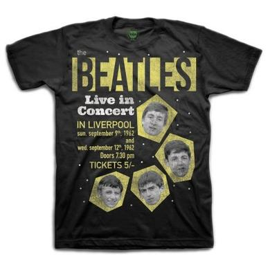 The Beatles 1962 'Live In Concert In Liverpool' Shirt