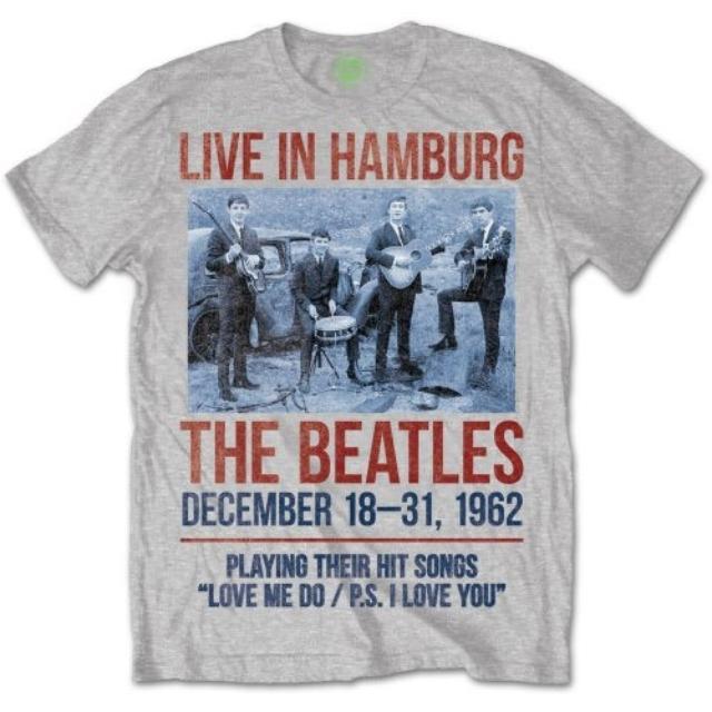The Beatles 1962 'Live In Hamburg' Shirt