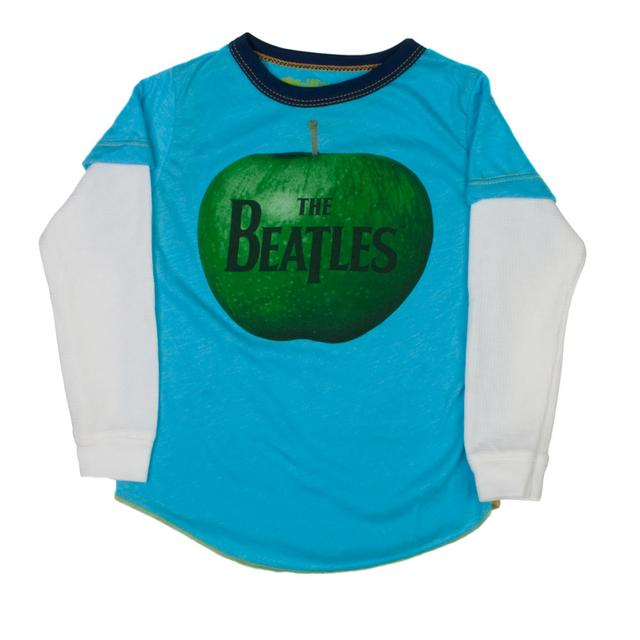 The Beatles Apple Logo Long Sleeved Shirt