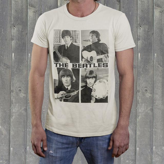"""The Beatles """"Act Naturally"""" Men's Crew Shirt"""