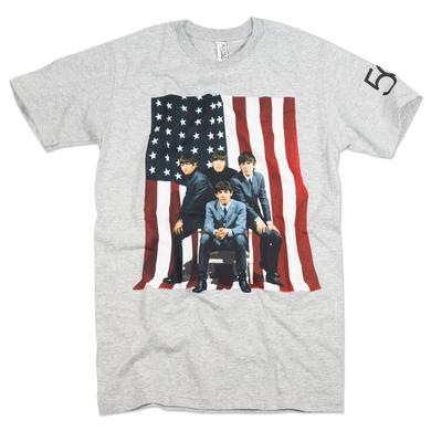 The Beatles American Flag T-Shirt