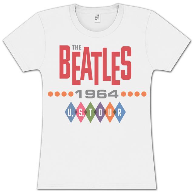The Beatles- 1964 Tour Juniors T-Shirt