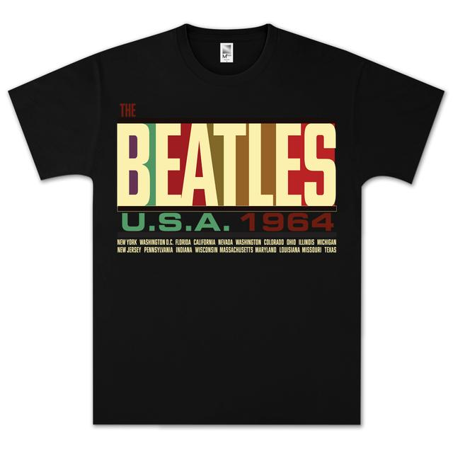 The Beatles- USA 1964 T-Shirt