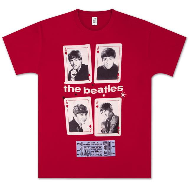 The Beatles Vegas Cards T-Shirt