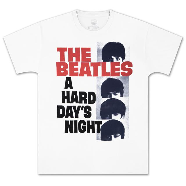 The Beatles Hard Day's Night Stacked T-Shirt