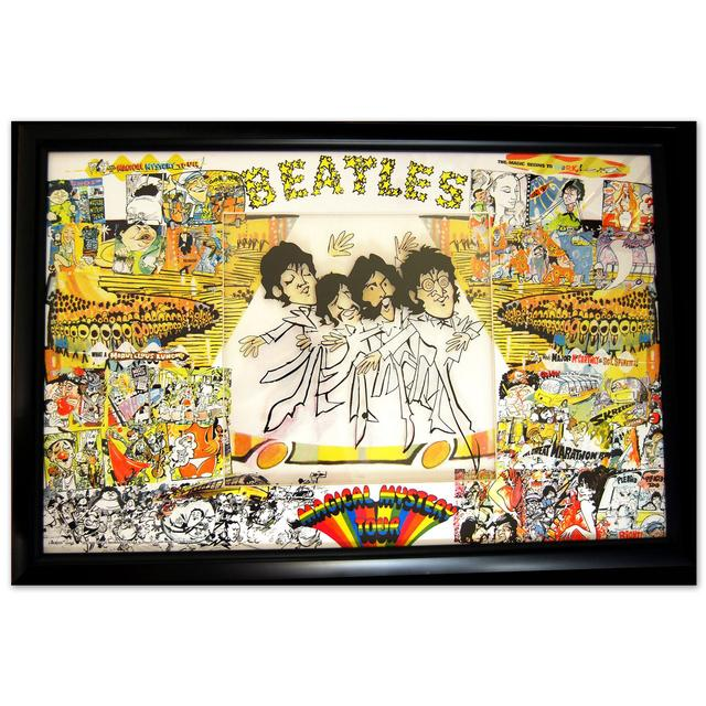 The Beatles Magical Mystery Tour- Limited Edition Framed Art