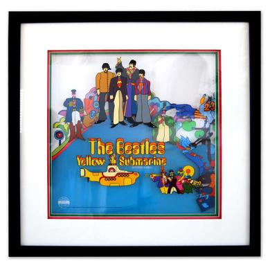 The Beatles Yellow Submarine- Blu Ray Special Limited Edition Triple Layered Sericel