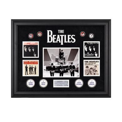 The Beatles On The Ed Sullivan Show Framed