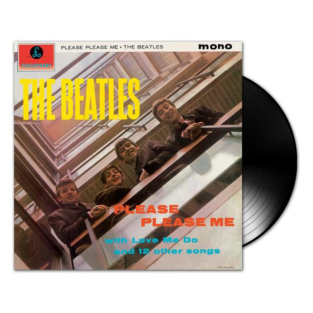 The Beatles Please Please Me Mono LP Vinyl