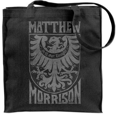 Matthew Morrison Crest Tote Bag