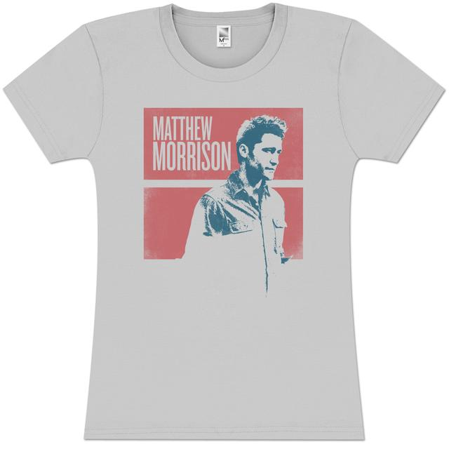 Matthew Morrison Blocks Girlie T-Shirt