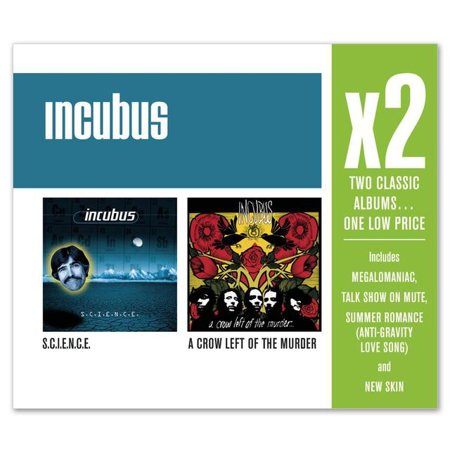 Incubus - x2 (S.C.I.E.N.C.E./A Crow Left of Murder..) CD
