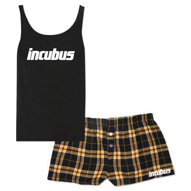 Incubus Logo Girls Boxers PJ Set
