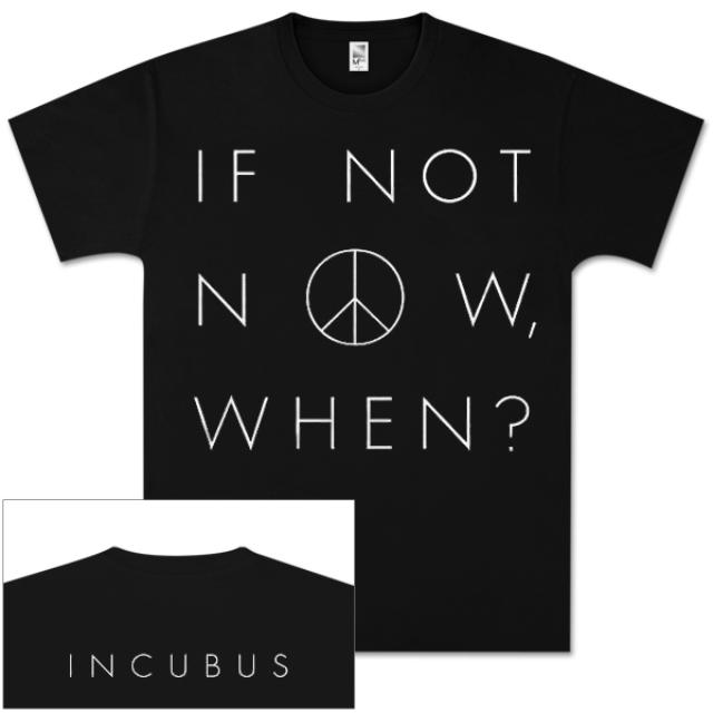 Incubus Peace Now T-Shirt