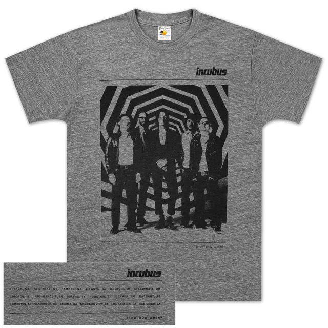 Incubus Portait Zone 2011 Tour T-Shirt