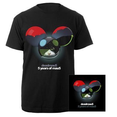 deadmau5 5 years of mau5 Tee + CD Bundle