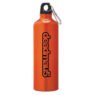 deadmau5 Logo Orange Water Bottle