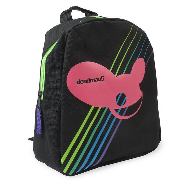 deadmau5 mau5head Stripes Mini Backpack