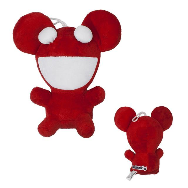 deadmau5 Red Plush Mau5