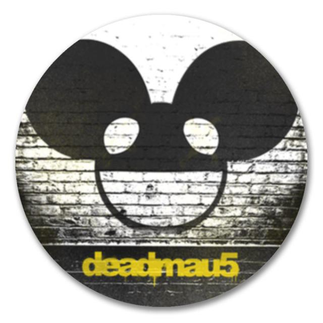 deadmau5 Brick Logo Sticker