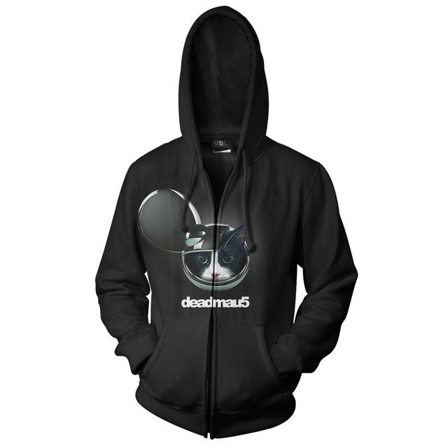 deadmau5 >Album Title Goes Here< Zip Hoodie