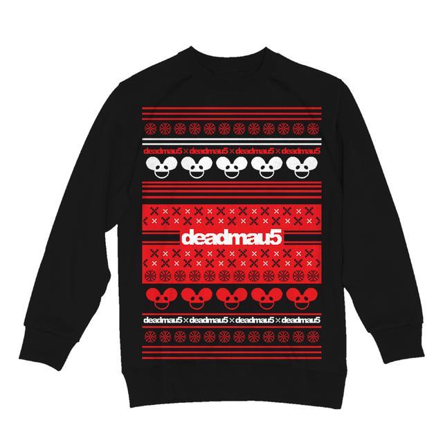 Deadmau5 Black/Red/White Ugly Sweatshirt