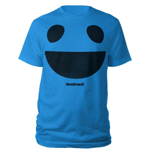 Blue deadmau5 Logo Tee