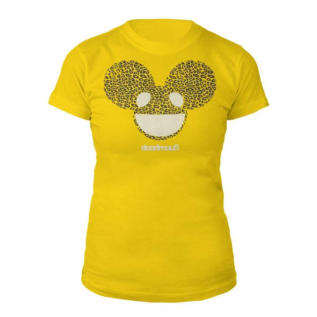 deadmau5 Cheetah Print Logo Junior Tee