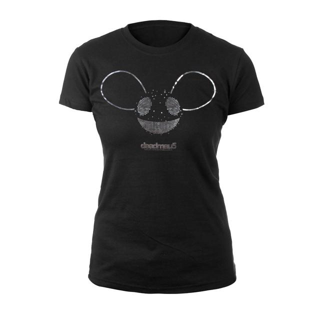 deadmau5 Silver Foil Logo Junior Tee