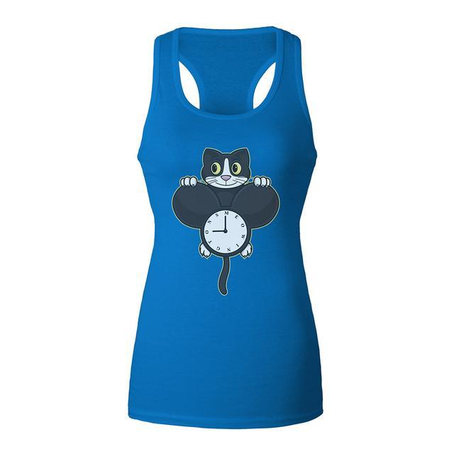 Deadmau5 Meowingtons Clock Junior Tank