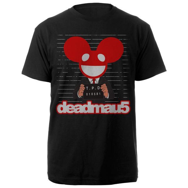 Deadmau5 Mug Shot Tee