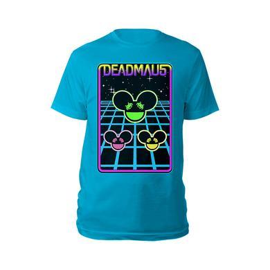 deadmau5 Space Invaders Multi Trio Mau5heads Tee