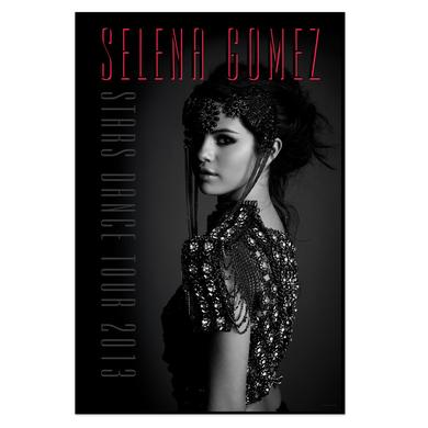 Selena Gomez Stars Dance Tour Poster