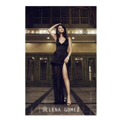 Selena Gomez Black Dress Poster
